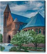 Billings Library At Uvm Canvas Print