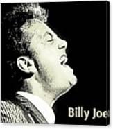 Billy Joel Poster Canvas Print