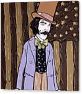 Billy Wonka One  Canvas Print