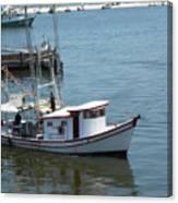Bilouxi Shrimp Boat Canvas Print