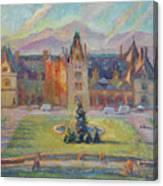 Biltmore Christmas Morning Canvas Print
