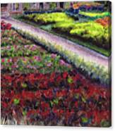 Biltmore Walled Gardens Canvas Print