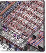 Bim Coordination Model Canvas Print