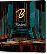 Binions Vegas Canvas Print