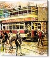 Binns Tram 1 Canvas Print