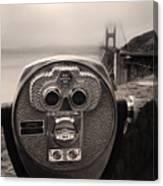 Binoculars Canvas Print