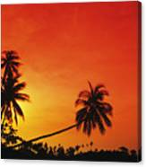 Bintan Island Sunset Canvas Print