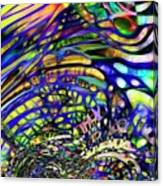 Biodiverse Interconnect Canvas Print