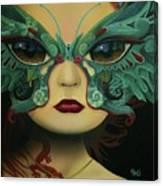 Biomorphic Bifocals Canvas Print