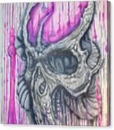 Bioskull1 Canvas Print