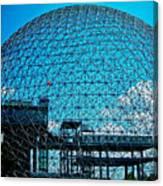 Biosphere Montreal Canvas Print