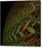 Biosphere Threatened Canvas Print