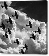 Biplanes, C1917 Canvas Print