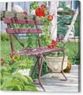 Birch Bark Book Shop Canvas Print