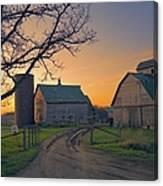 Birch Barn 2 Canvas Print