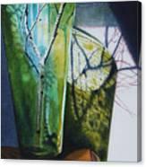 Birch Branches Canvas Print