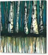 Birch Trees #1 Canvas Print