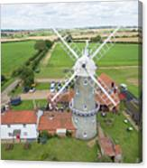 Bircham Windmill Canvas Print