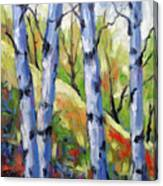 Birches 09 Canvas Print