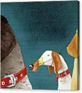 Bird Dogs... Canvas Print