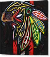 Bird Head Canvas Print