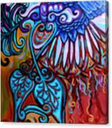 Bird Heart II Canvas Print