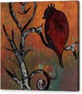 Bird I Wr Canvas Print