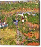 Bird Over Santa Rosa, Nbr 1k Canvas Print