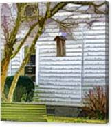 Birdhouse 6 Canvas Print