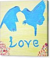 Birdie Love Canvas Print