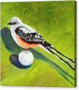 Birdie Time Canvas Print