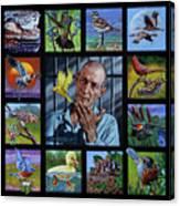 Birdman Of Alcatraz Canvas Print