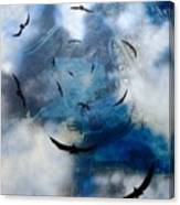 birds of apocalypse VI Canvas Print