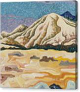 Birdseye Landscape #5 Canvas Print