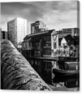 Birmingham Waterway Canvas Print