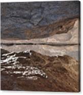 Birth In Stone Canvas Print
