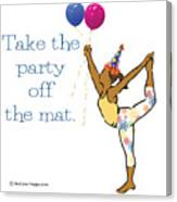 Party Pose 2 Canvas Print