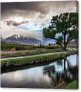 Bishop Canal Canvas Print