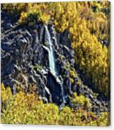 Bishop Creek Falls Canvas Print