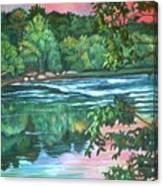Bisset Park Rapids Canvas Print
