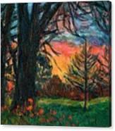Bisset Park Sunrise Canvas Print