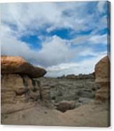 Bisti Fissure New Mexico Canvas Print