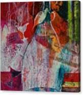 Bistro Chatter Canvas Print