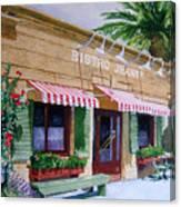 Bistro Jeanty Napa Valley  Canvas Print
