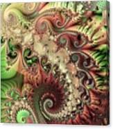 Bisymmetric Spiral Spring Canvas Print