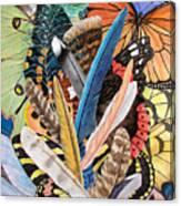 Bits Of Flight Canvas Print