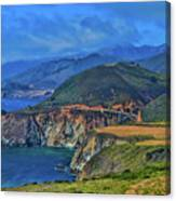 Bixby Bridge 1 Canvas Print