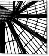 Black And White 4 Canvas Print