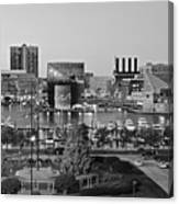Black And White Baltimore Canvas Print