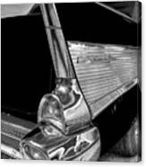 Black And White Bel Air Canvas Print